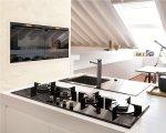 Kuchnia wyposażona urządzeniami marki Franke