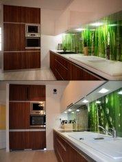 Kuchnia minimalistyczna, wizualizacja i zdjęcie