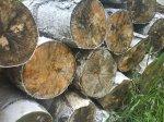kawałki drewna