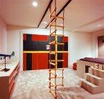 zaprojektowane wnętrze pokoju dla dziecka