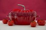 fototapeta z czerwonymi owocami